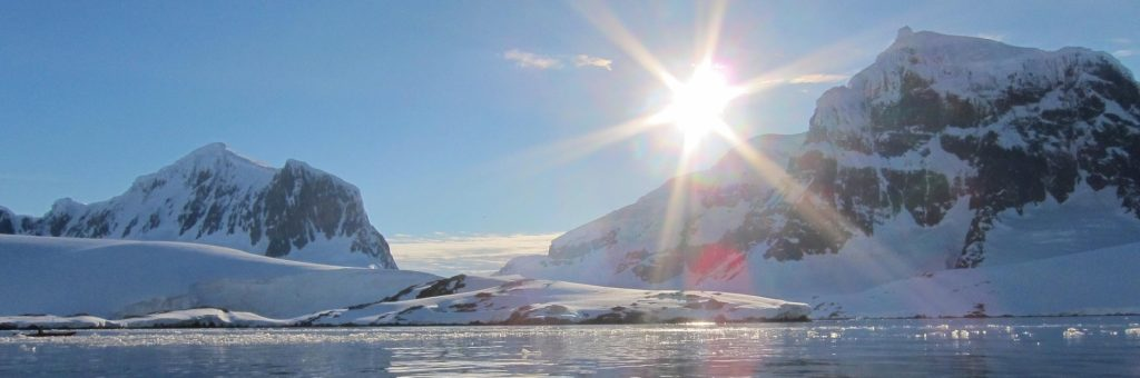 Ice melting in the Antarctic